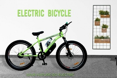 """TARANG-""""WATER RESIST"""" ELECTRIC BICYCLE WITH DETACHABLE & LOCKABLE BATTERY"""