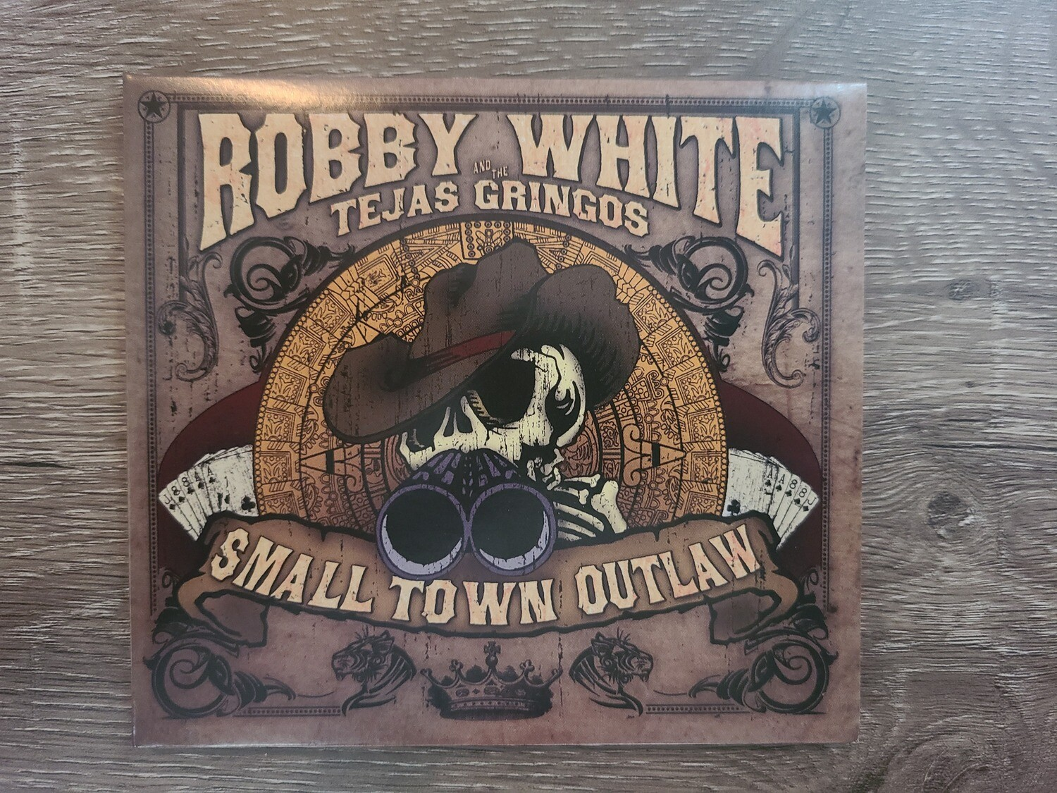 Small Town Outlaw CD