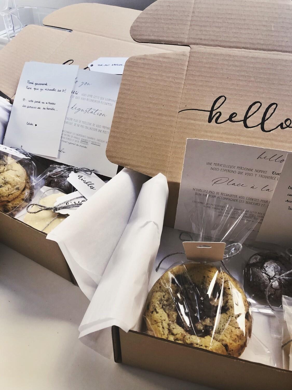 Box Gourmande - Cookies & Brownies