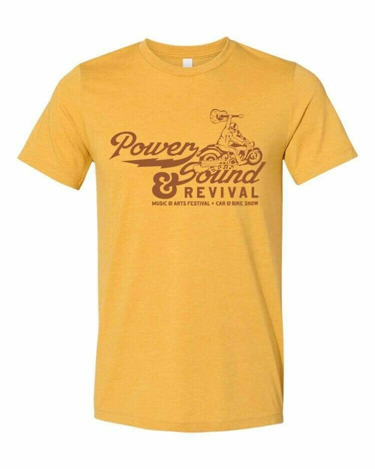 Power & Sound Revival T-shirt