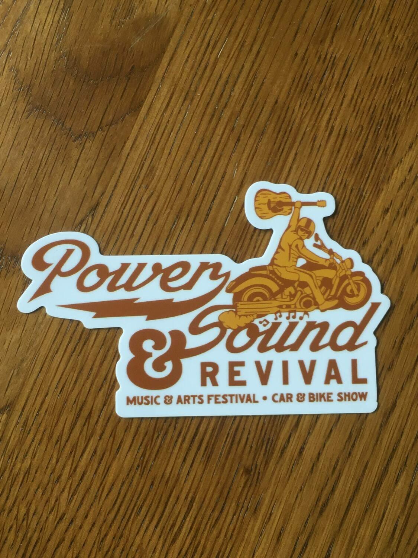 Power & Sound Revival Sticker
