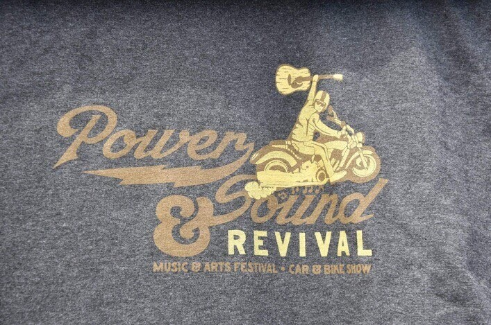 Grey Power & Sound Revival T Shirts
