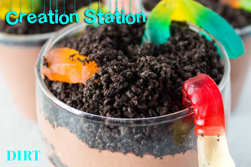 Creation Station - Dirt Cup