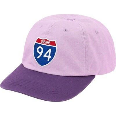 Supreme Interstate 6-Panel Hat