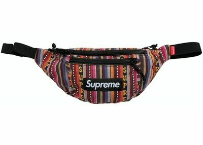 Supreme Woven Multicolor Waist Bag
