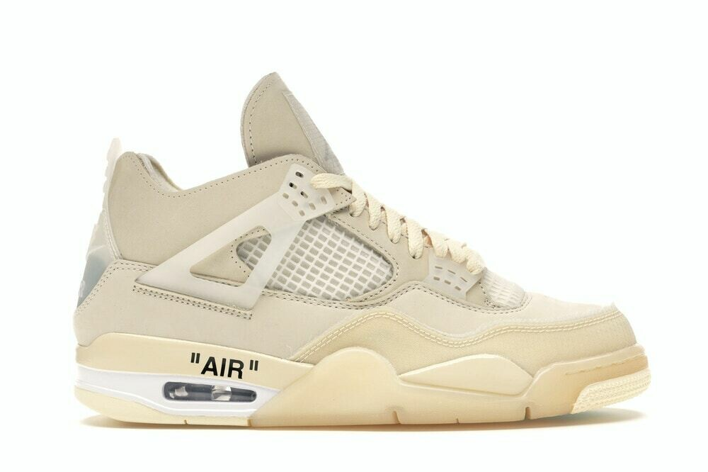 Jordan 4 Retro Off White Sail (Women)