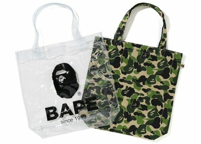 Babe ABC Camo Clear Tote Bag