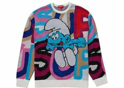 Supreme Smurfs Sweater