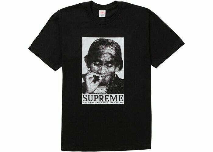 Supreme Aguilla Tee Black
