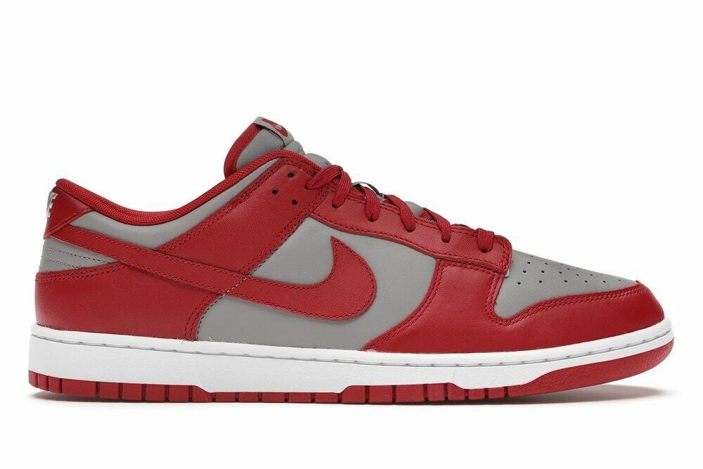 Nike Dunk Low Retro Medium Grey Varsity Red UNLV