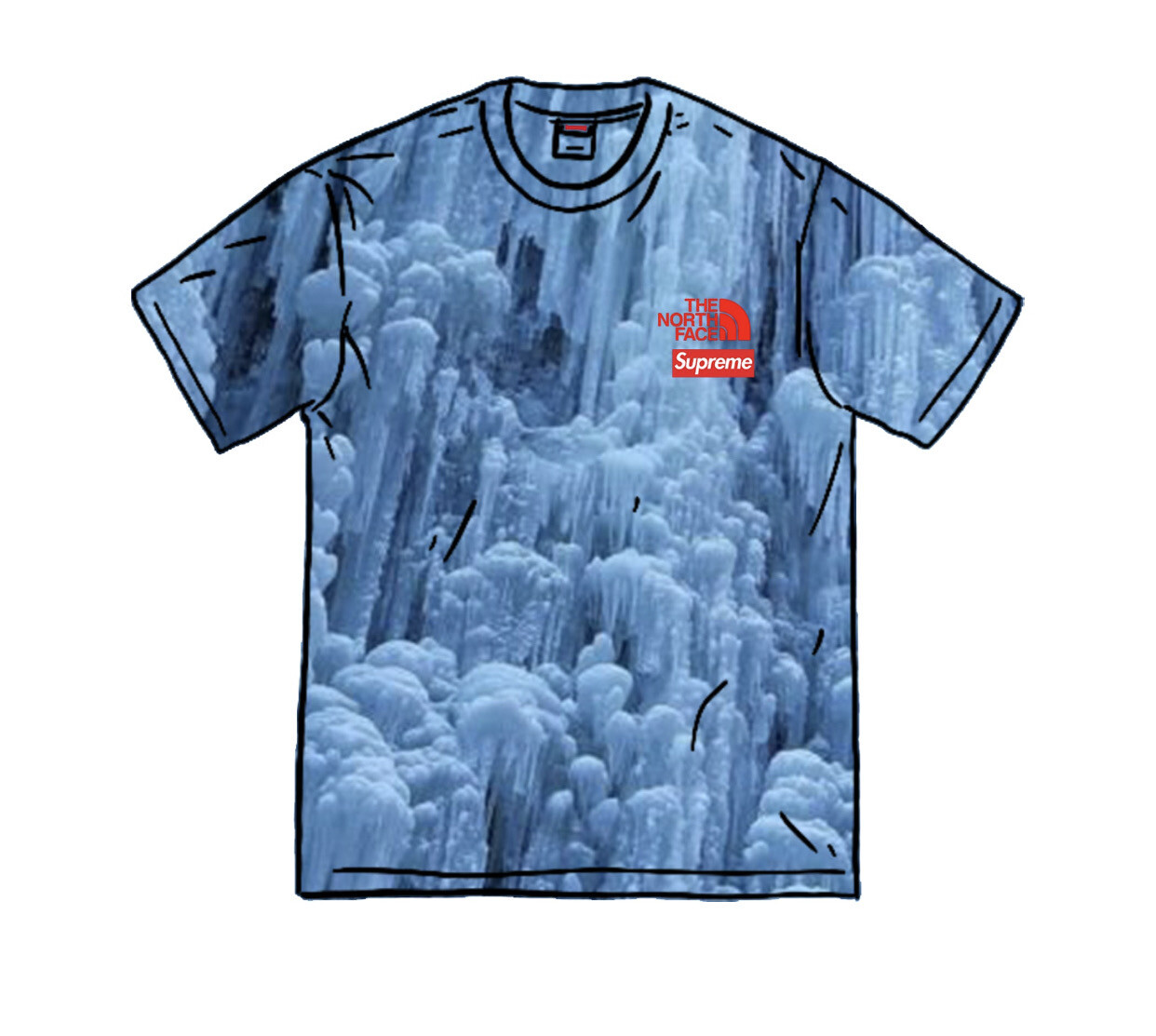 Supreme The North Face Ice Climb Tee
