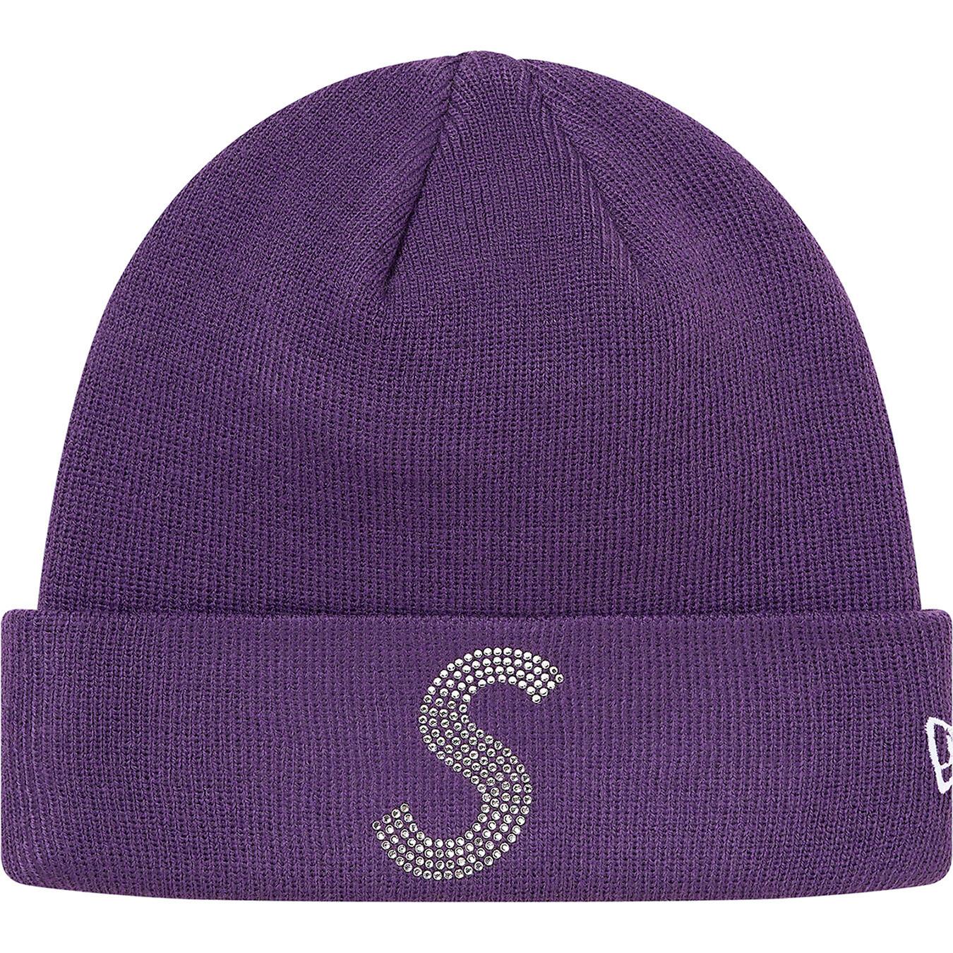 Supreme New Era Swarovski S Logo Beanie