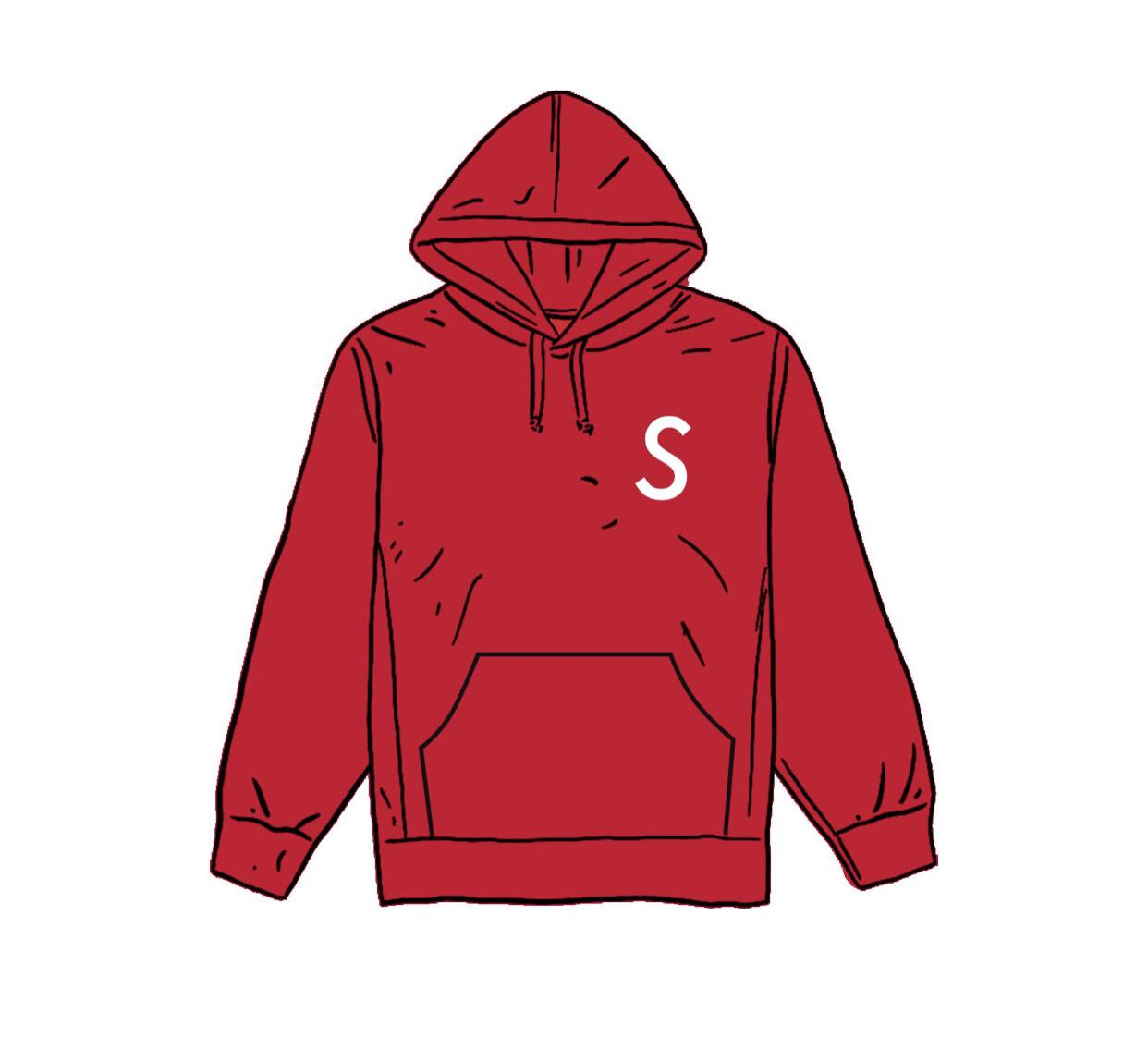 Supreme Swarovski S Logo Hooded