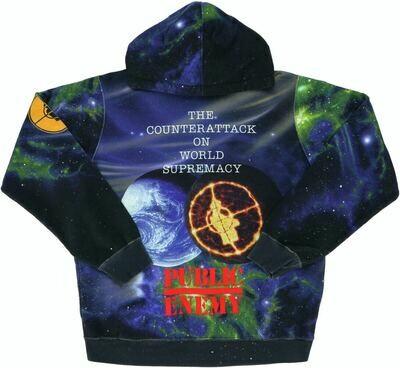 Supreme UnderCover/Public Enemy Hooded Sweatshirt