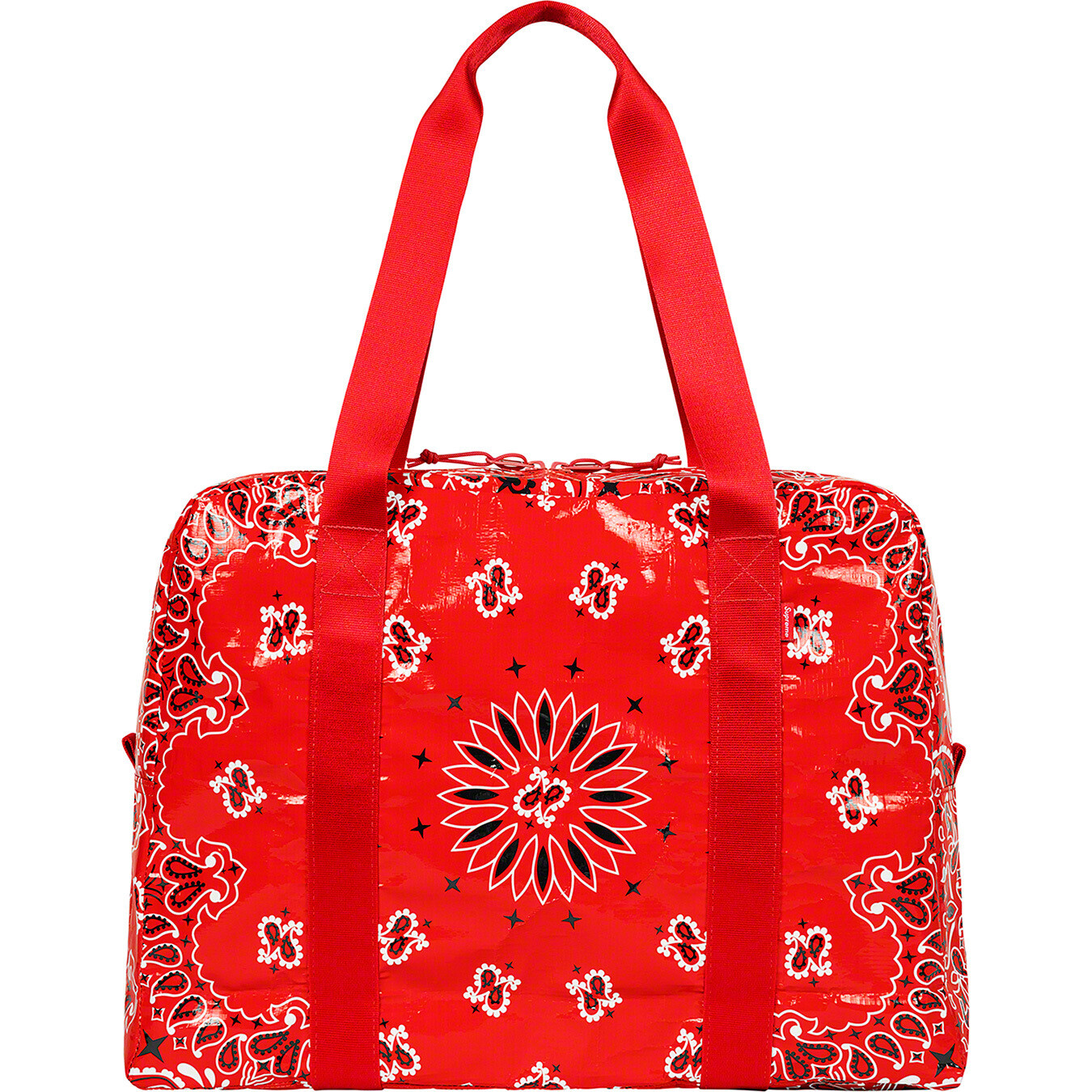 Supreme Bandana Tarp Small Duffle Bag