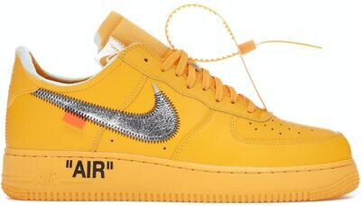 Nike Air Force 1 Low Off-White University Gold