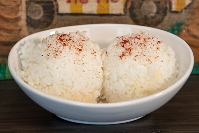 SIDE WHITE RICE (2 SCOOP)