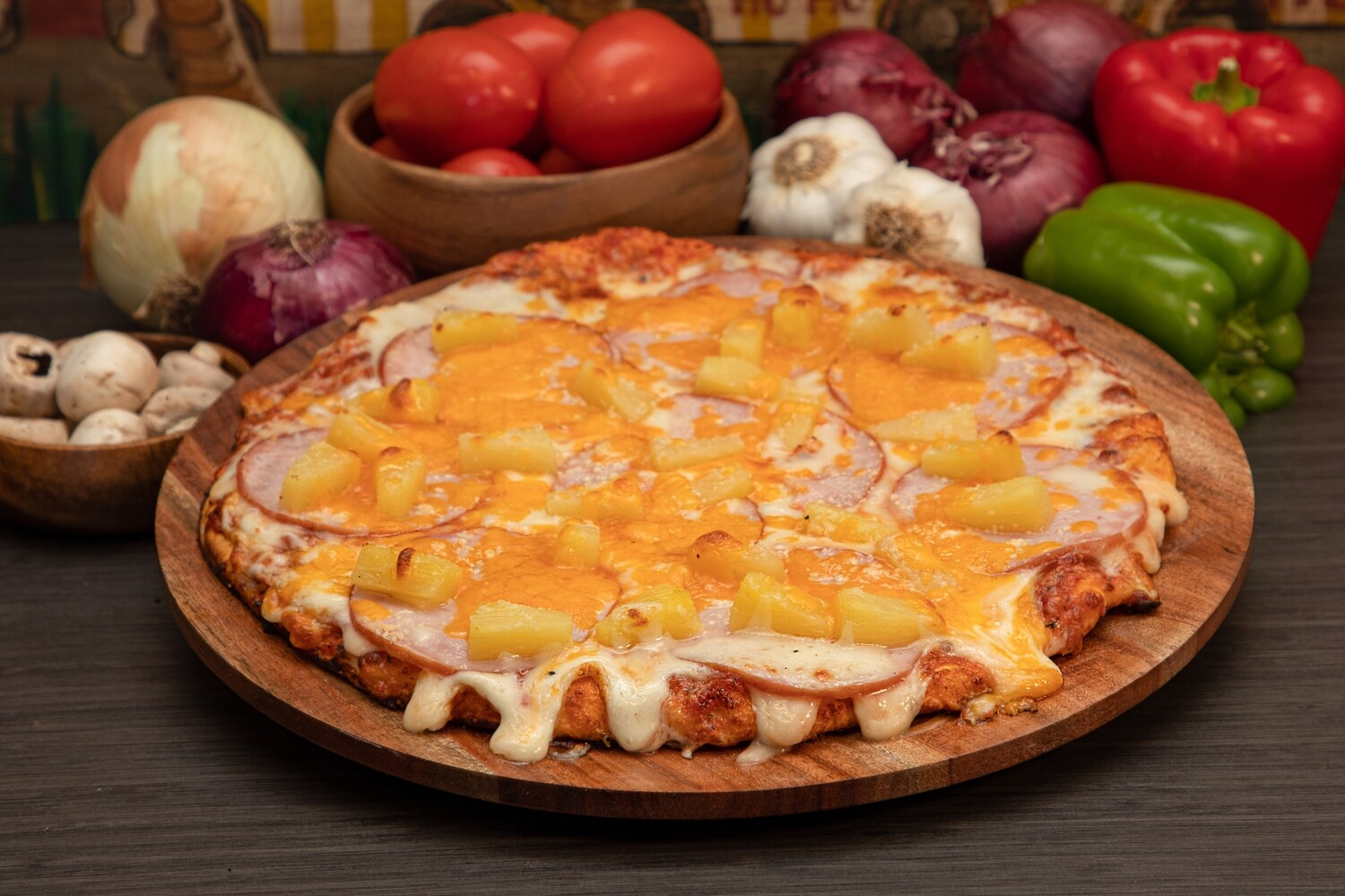 HAWAIIAN PIZZA - LARGE