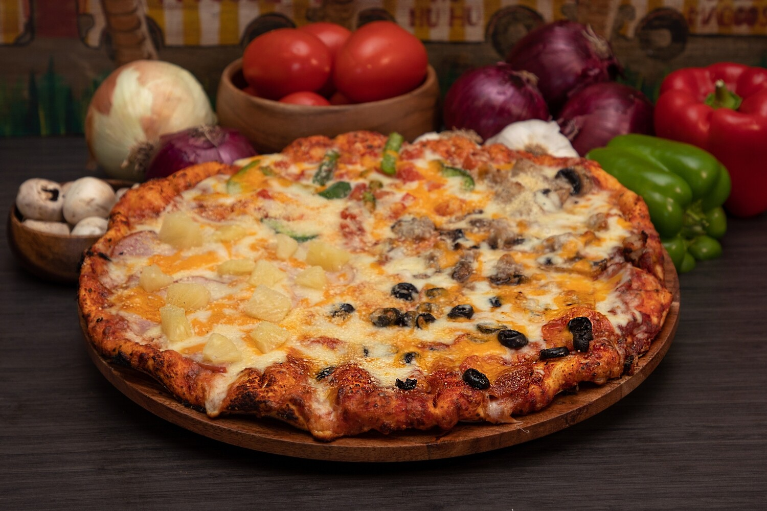 POTPOURRI PIZZA - SMALL
