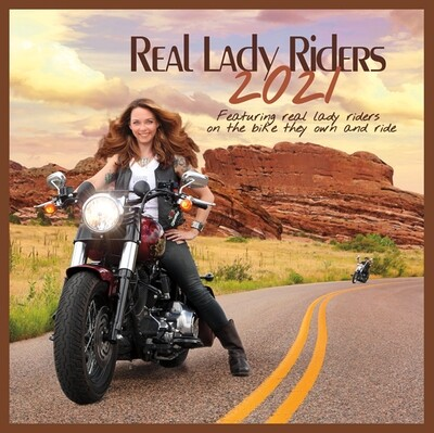 Real Lady Riders 2021 Calendar