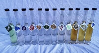 5dl-Flasche gefüllt mit Schnaps nach Wahl
