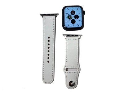 Apple Watch Leather Band [White]