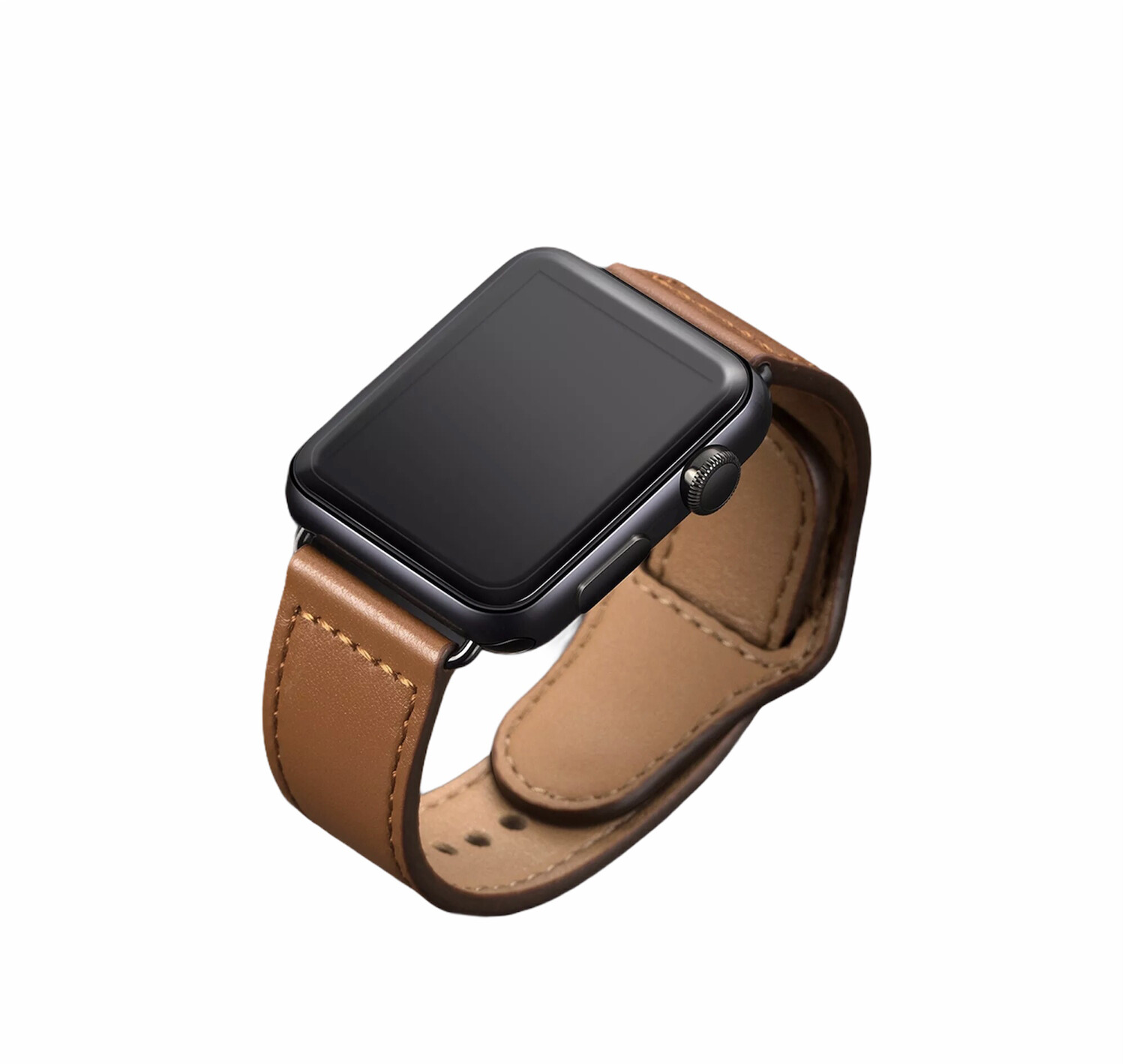 Apple Watch Leather Band [Brown]