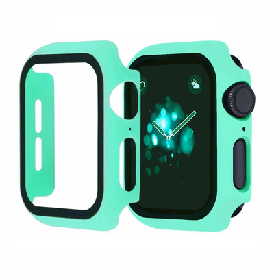 Apple Watch Hard Bumper Case with Built-in Screen Protector [Mint]