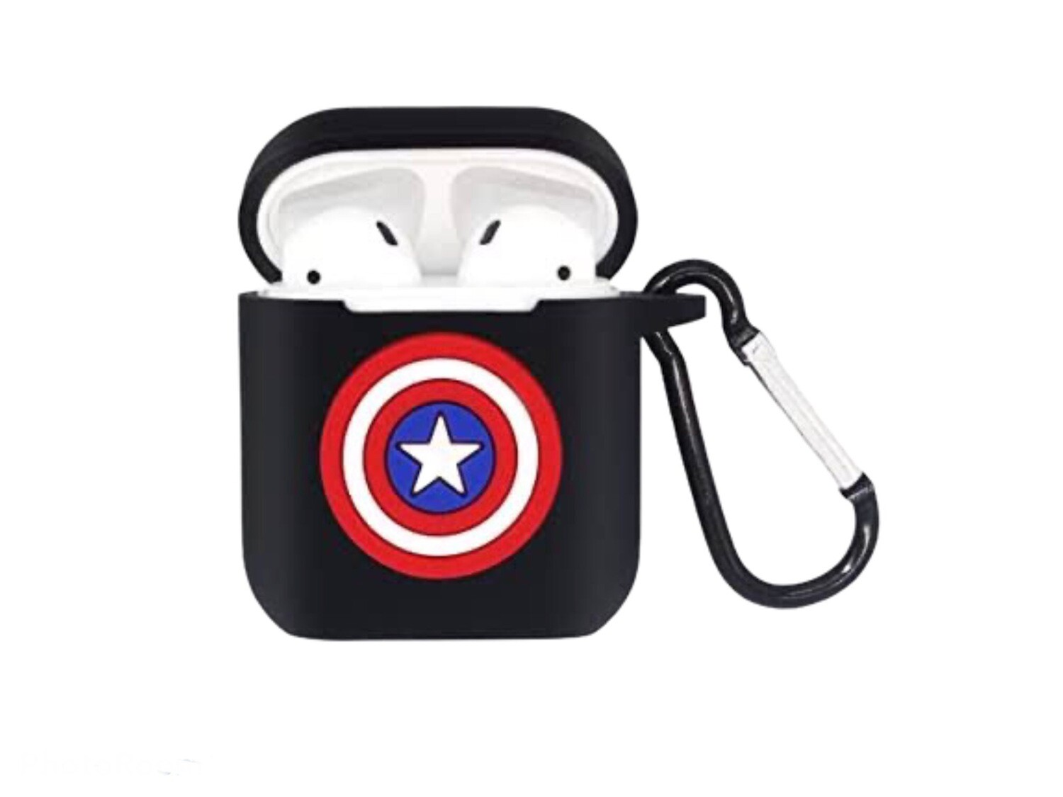 Captain America Silicone AirPod Case
