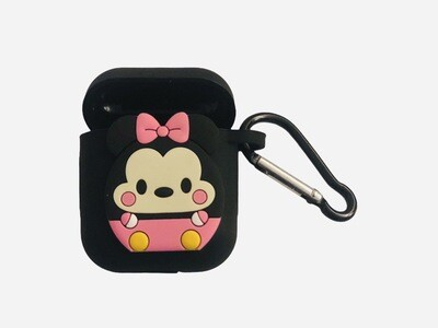 Hello Kitty Minnie Mouse Silicone AirPod Case