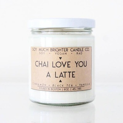 Chai Love you a Latte