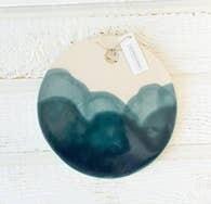 Tide Cheese Board (Blue Wash)