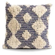 Blue MCM Diamond Pillow