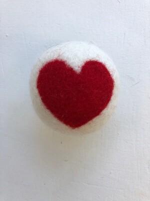 Dryer Balls, Hearts
