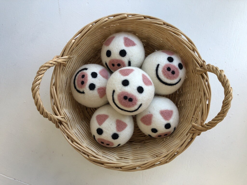 Dryer Balls, Piggie
