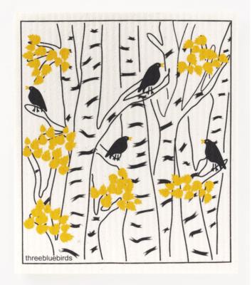 Swedish Paper Towel, Blackbirds