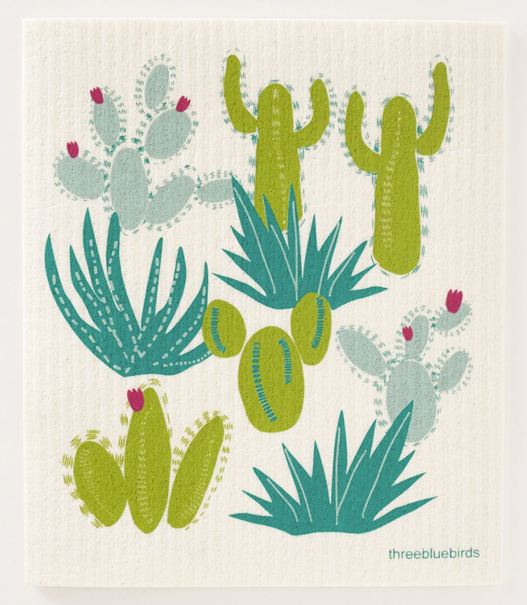 Swedish Paper Towel, Cactus