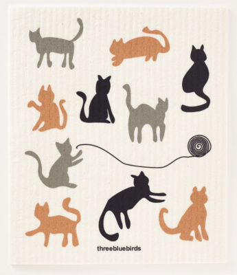 Swedish Paper Towel, Many Cats