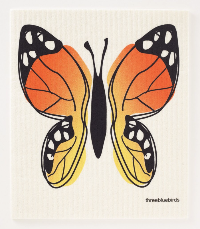 Swedish Paper Towel, Butterfly
