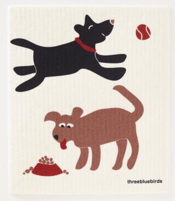Swedish Paper Towel, Playful Dogs