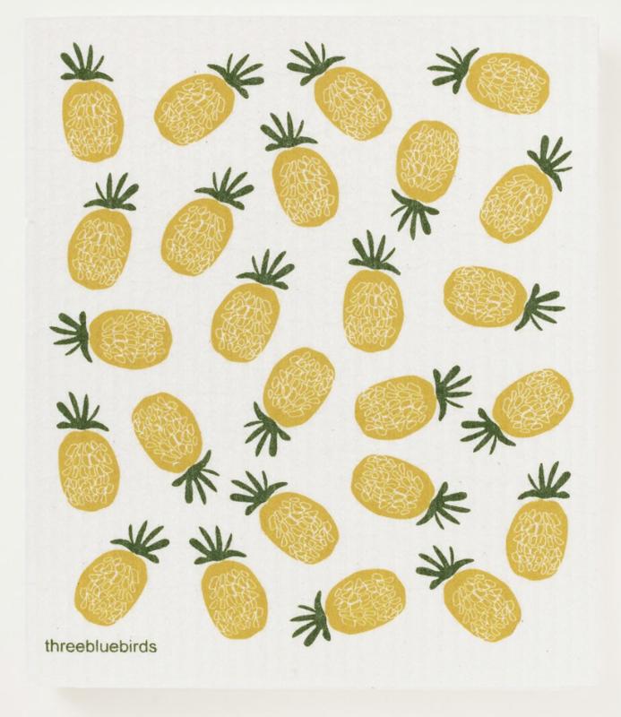 Swedish Paper Towel, Pineapples