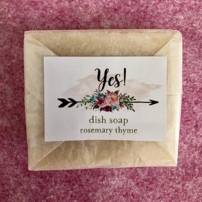 Dish Soap Block, Rosemary Thyme