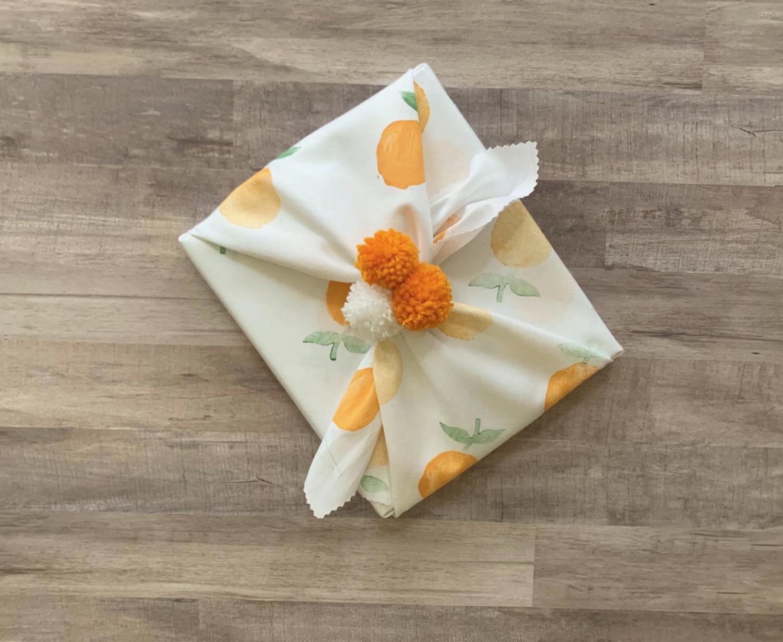 "Fab Wrap - 16"", Oranges"