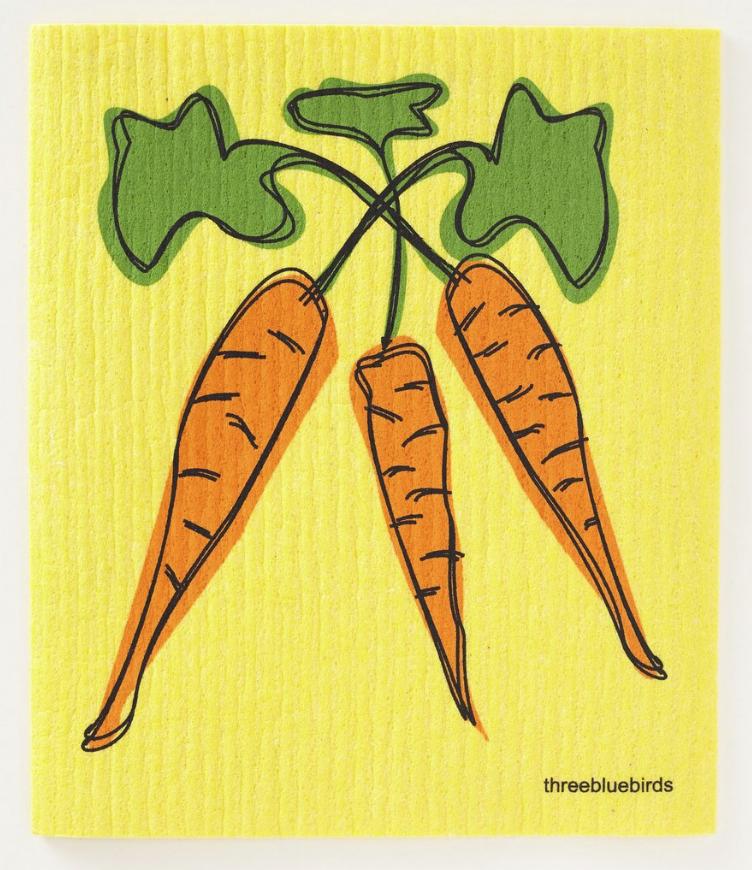 Swedish Paper Towel, Carrots