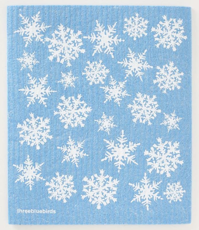 Swedish Paper Towel, Snowflakes