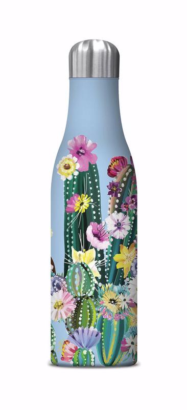 Water Bottle, cactus