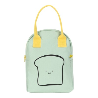 Zippy Lunch Bag, Happy Bread