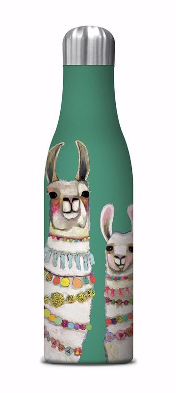 Water Bottle, Llamas
