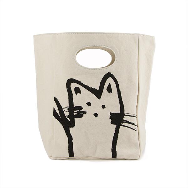 Classic Lunch Bag, Cat