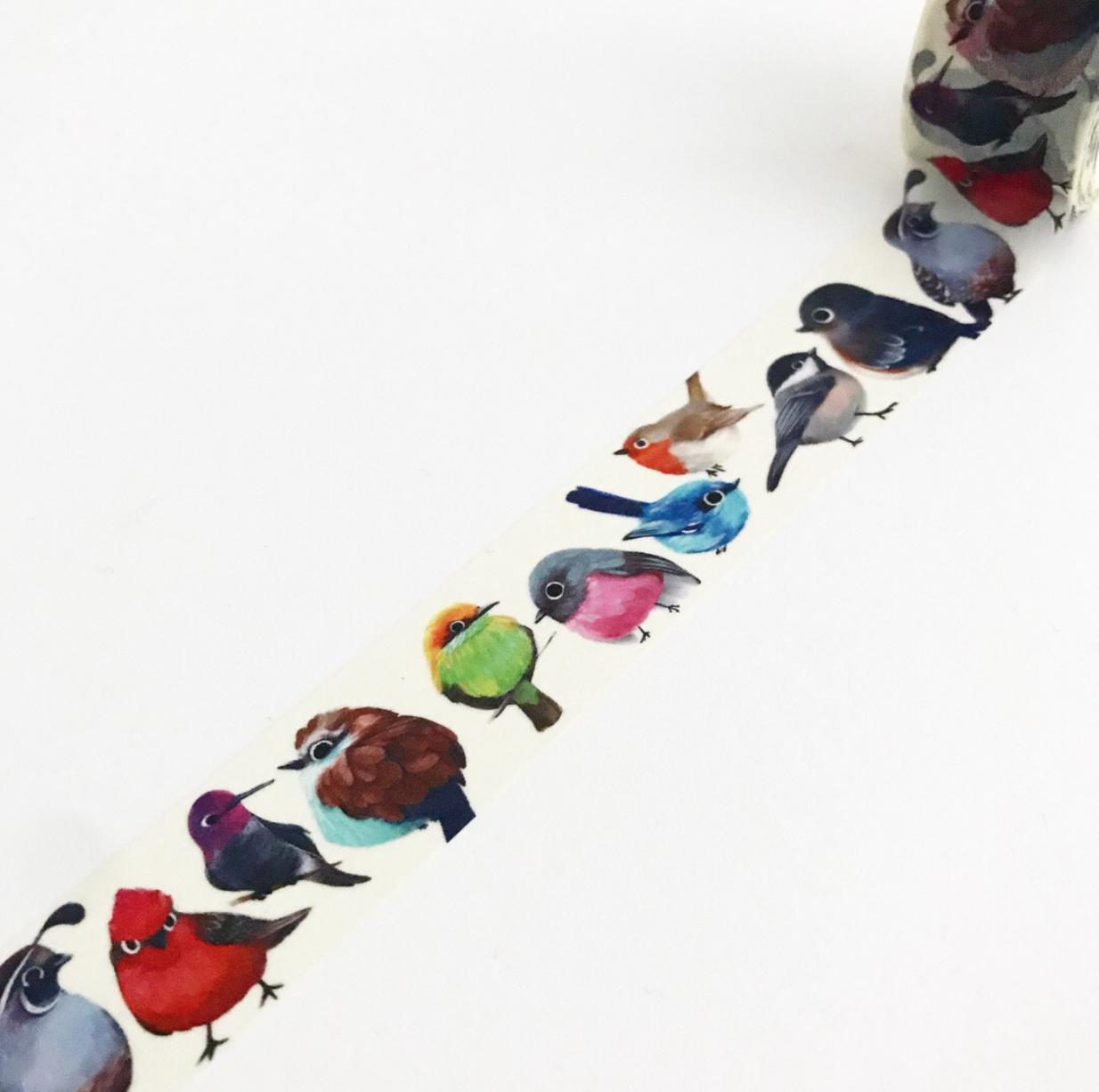 Washi, Birds